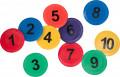 Bodenmarkierung Zahlen 1-10